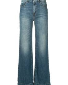 Alexa Chung loose flared jeans - Blue