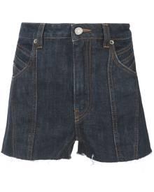 Givenchy classic denim shorts - Blue