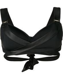 Marlies Dekkers Cache Coeur plunge balcony bikini top - Black
