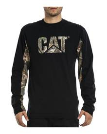 CATA LOGO CAMO LONG SLEEVE TEE