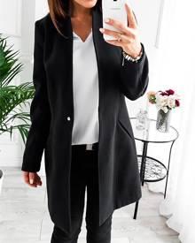 ivrose Trendy Long Sleeve Trench Coat