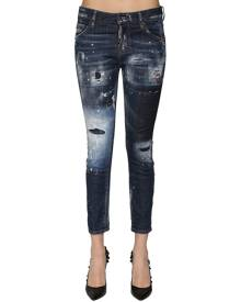 DSQUARED2 COOL GIRL DESTROYED DENIM JEANS