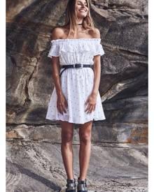 Fortunate One Belle Du Jour Dress White