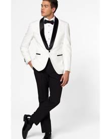 OppoSuits Tuxedo Pearly White
