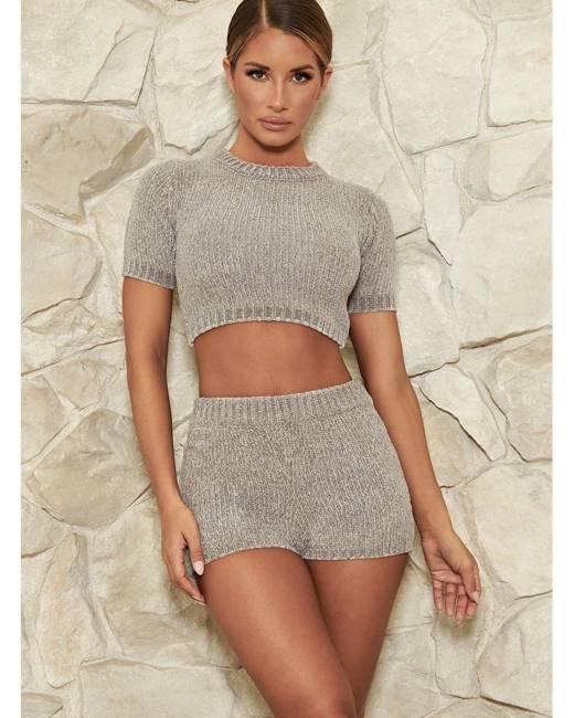 9d7d4c21a3c Carmela Chenille T-Shirt - Grey