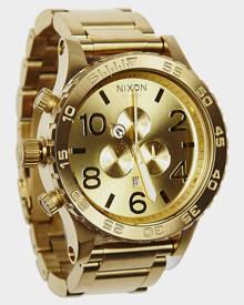 Nixon 51-30 Chrono All Gold