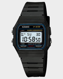 Casio Vintage Basic Digital Watch Black