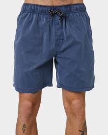 Swell Malibu Mens Beach Short Denim Denim