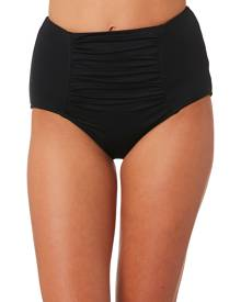 Seafolly Plains High Waisted Separate Pant Black