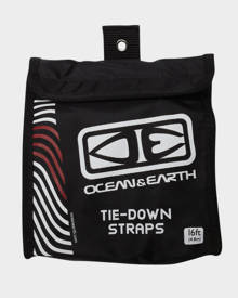 Ocean And Earth Tie Down Straps Black