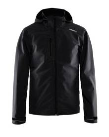 Craft Mens Light Waterproof Softshell Jacket (Black) - RW5553
