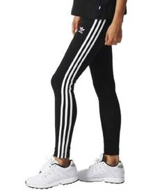 adidas 3 Stripe Tight - Black