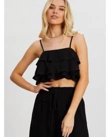Ruffle Cami Crop Top - Ally Fashion