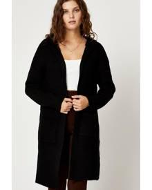 Hoodie Knit Cardigan - Ally Fashion