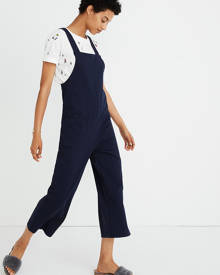 MW Knit Patch-Pocket Overalls