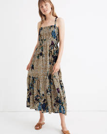 MW Warm Sunshine Maxi Dress in Earthy Dots