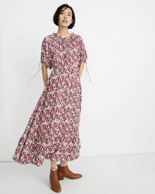 MW Warm Geranium Maxi Dress