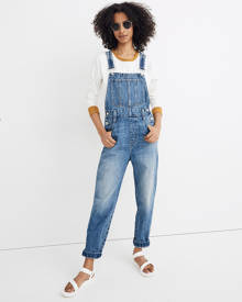MW Straight-Leg Overalls in Hickory Wash
