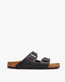 MW Birkenstock® Arizona Soft Footbed Sandals in Oiled Leather