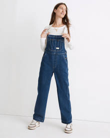 MW Workwear Collection Denim Oversized Overalls