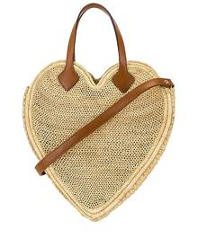 Poolside The Heart Beat Faster Tote Bag in Neutral.