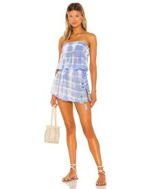 Tiare Hawaii Aina Dress in Blue. - size S/M (also in M/L)