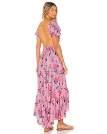 Tiare Hawaii New Moon Maxi Dress in Pink. - size M/L (also in S/M)