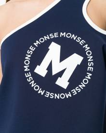 Monse - one shoulder tank top - women - Rayon/Spandex/Elastane/Nylon - XS, M - Blue