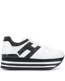 Hogan Women's Plateau Sneakers - Shoes | Stylicy USA