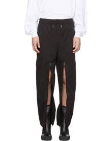 Random Identities Black Versatile Cargo Pants