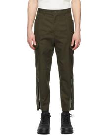 Helmut Lang Khaki Cotton Cargo Pants