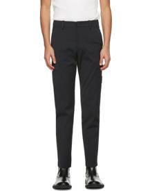 System Grey Twill Cargo Pants