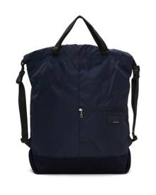 Nanamica Navy 2 Way Messenger Bag