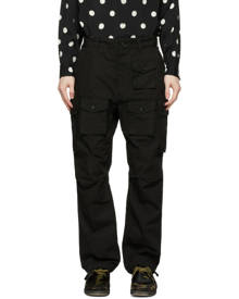 Engineered Garments Black Cotton Ripstop Cargo Pants