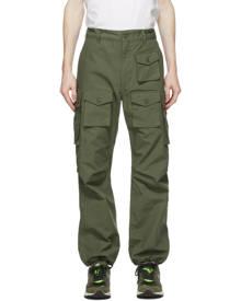 Engineered Garments Green Cotton Ripstop Cargo Pants