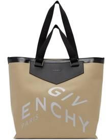 Givenchy Beige Canvas Antigona Shopping Tote
