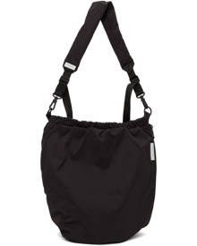 Cote and Ciel Black Orco Messenger Bag