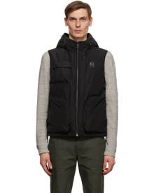 Mackage Black Down Bastian Utility Vest