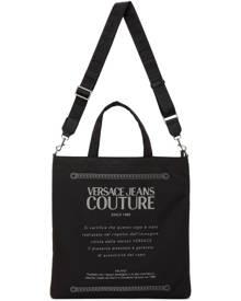 Versace Jeans Couture Black Etichetta Tote