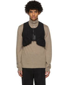 Connor McKnight Black Mesh Utility Vest