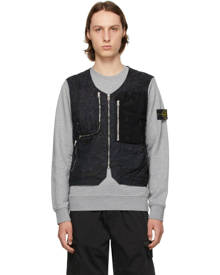 Stone Island Shadow Project Black Utility Vest