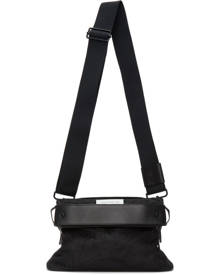 Maison Margiela Black Nylon Small Messenger Bag