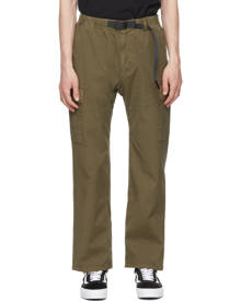 Gramicci Green Ripstop Cargo Pants