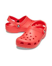Classic Crocs Red Clogs, Size: W7/M5
