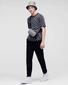 Karl Lagerfeld ALL-OVER KL MONOGRAM T-SHIRT