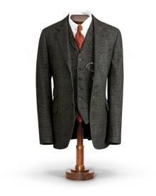 RRL Plaid Wool-Blend Suit Jacket