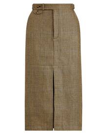 Polo Ralph Lauren Glen Plaid Linen-Cotton Skirt