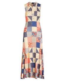 Polo Ralph Lauren Patchwork Sleeveless Dress