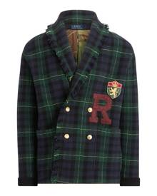 Polo Ralph Lauren Tartan Wool Shawl Cardigan