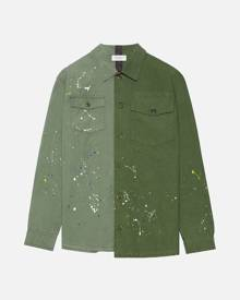 John Elliott Distorted Military Shirt / Army Green